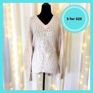 3 / $25 Pink Knit Blush Sweater